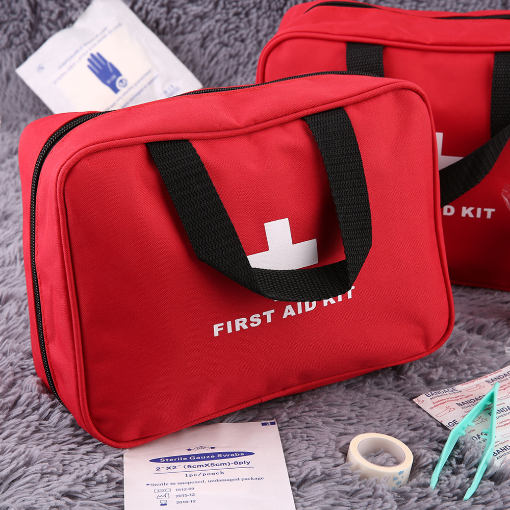 Nylon First Aid Bag Outdoor Sports Camping Home Medical Emergency Survival Bag Rescue Medical Tools Best Quality Hot Selling