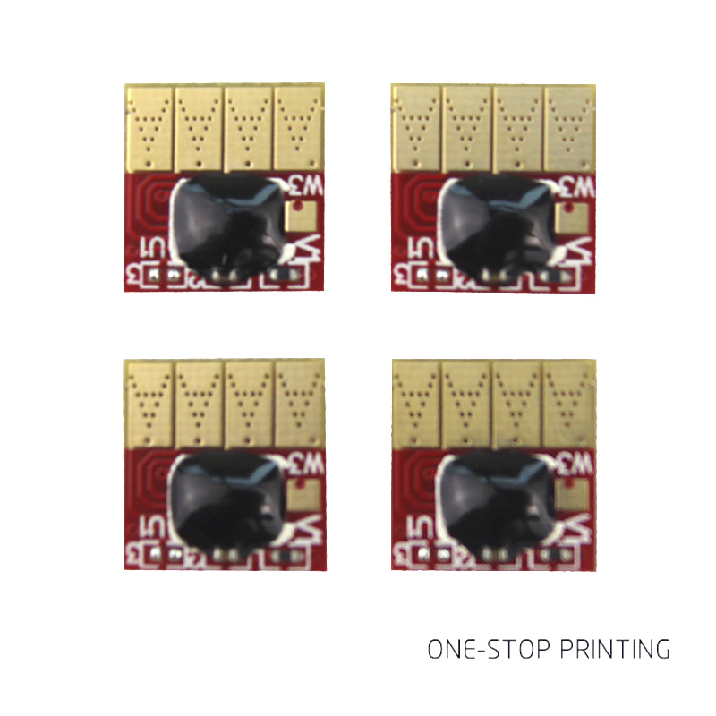 4pcs set permanent Chip for hp 934 935 hp934 hp935 ciss ink cartridge for HP pro6230