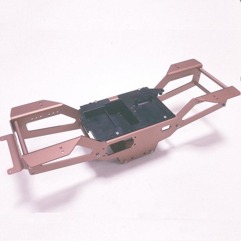 Amortiguadores de aleación de aluminio RC 1/10 con Kit de chasis para TAMIYA clodbumper/Bullhead 4*4 6*6 - 2