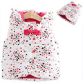Novo Inverno Primavera outono roupa das crianças colete arcos estrela sem mangas meninas Com Capuz engrosse Colete roupa dos miúdos do bebê meninas colete