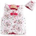 Nuevo Invierno del otoño del Resorte ropa niños arcos estrella sin mangas del chaleco niñas Chaleco Con Capucha espesar ropa de niños niñas bebé chaleco