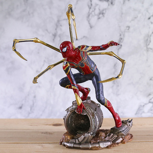 Marvel Avengers Infinity War Iron Spider Statue Spiderman PVC Action Figure Collectible Model Superhero Toy Doll(China)