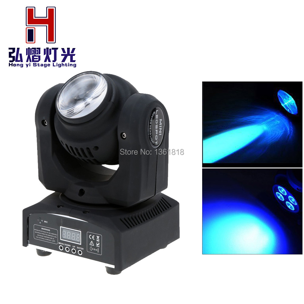 LED Double Face moving head lights Spot dyed DJ DMX sound stage lightsLED Double Face moving head lights Spot dyed DJ DMX sound stage lights