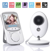 Sale Wireless Baby Monitor 2.4 inch LCD Audio Security Baby Camera Digital Infants Babysitter Night Vision Temperature Monitoring