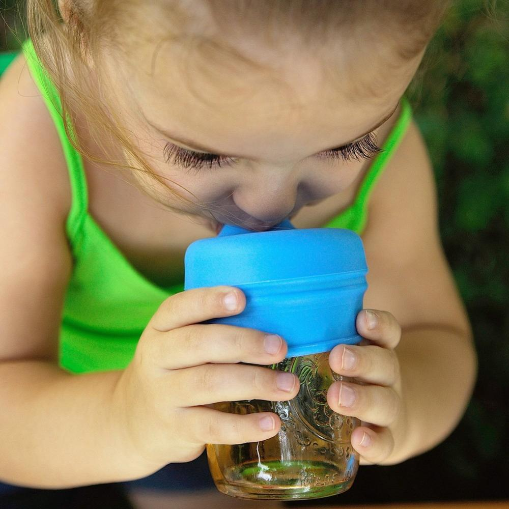 2019 New Baby Drinkware Stainless Steel Sippy Cups For Toddlers & Kids With Silicone Sippy Cup Lids Solid Feeding Cups BPA Free