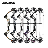 5 Color M1 19 70 Lbs Compound Bow With Straight Pull Pulley Adjustable CNC Wheels Archery