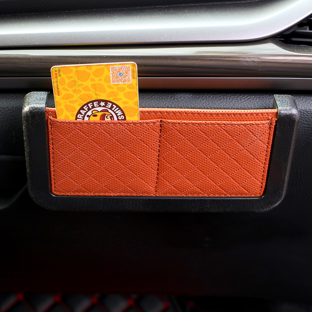 Car Organizer Auto Seat Back Pocket Car-styling Box Storage Bag for Phone Coin Holder Universal Car Accessories Stowing Tidying