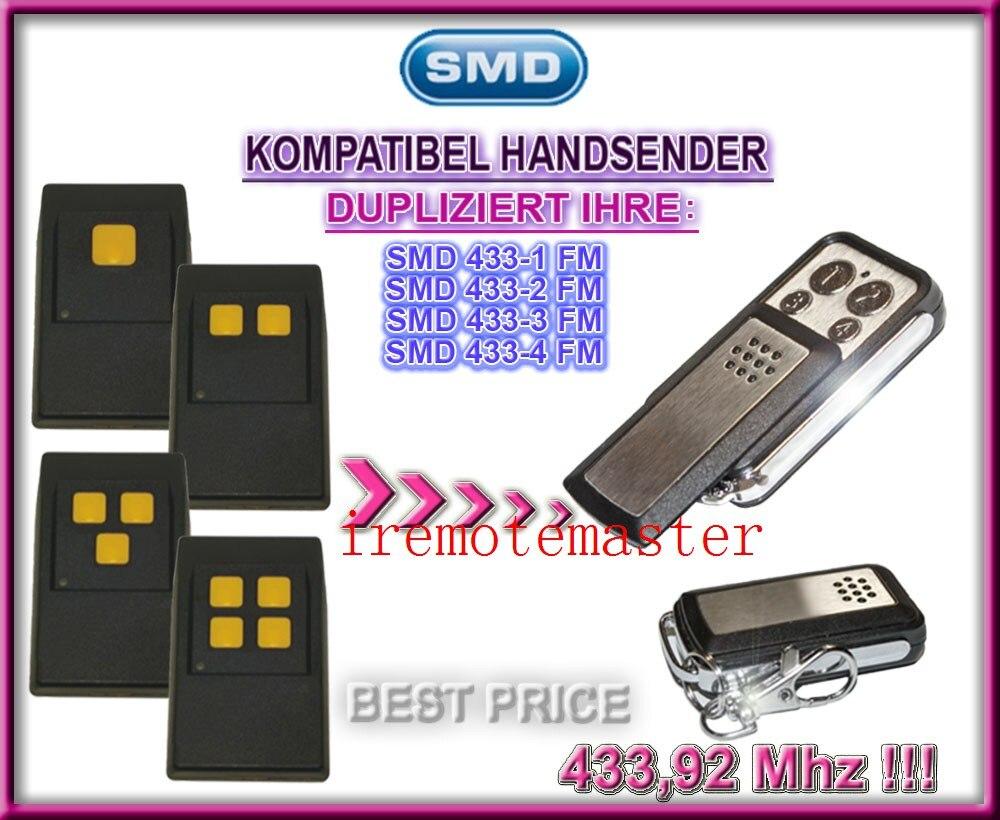 SMD 433-1FM, 433-2FM, 433-3FM, 433-4FM replacement remote 433,92mhz fixed code fm трансмиттеры