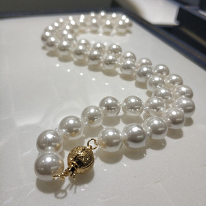 JYX Shell Pearl Necklace Jewel