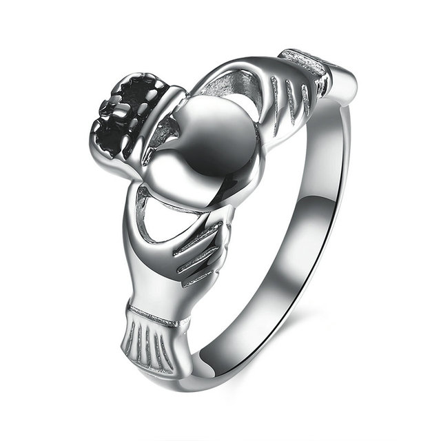 knotwork irish mens claddagh men forever s rings bands helios metals