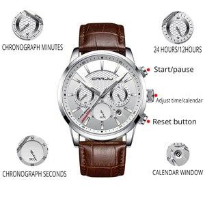 Image 3 - Crrju腕時計クラシック機能スポーツ防水クォーツ腕時計カレンダー時計ビジネス腕時計レロジオmasculino