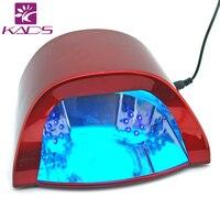 KADS Profesjonalne 110 v i 220 v 18 W LED Utwardzanie Paznokci Żelem UV światło Lampy dla Salon Manicure UE Wtyczką AMERYKAŃSKĄ Dostępne Nail Polski suszarka