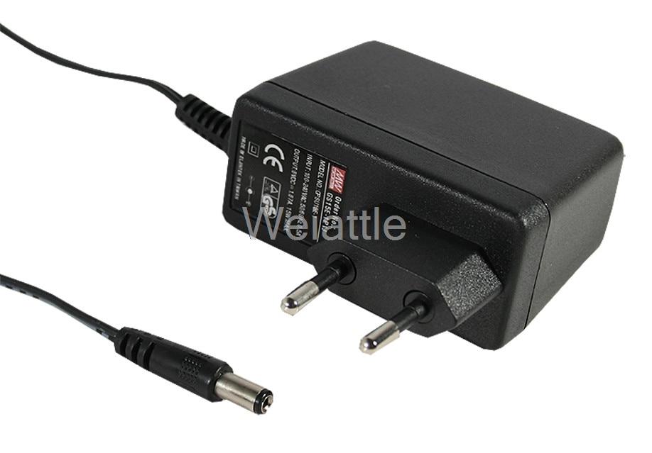 цена на MEAN WELL original GS15E-8P1J 48V 0.31A meanwell GS15E 48V 15W AC-DC Industrial Adaptor