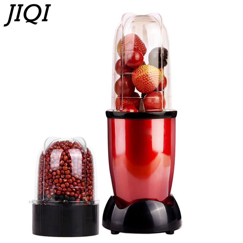JIQI MINI Portable Electric juicer Blender Baby Food Milkshake Mixer Meat Grinder Multifunction Fruit Juice Maker Machine цены онлайн