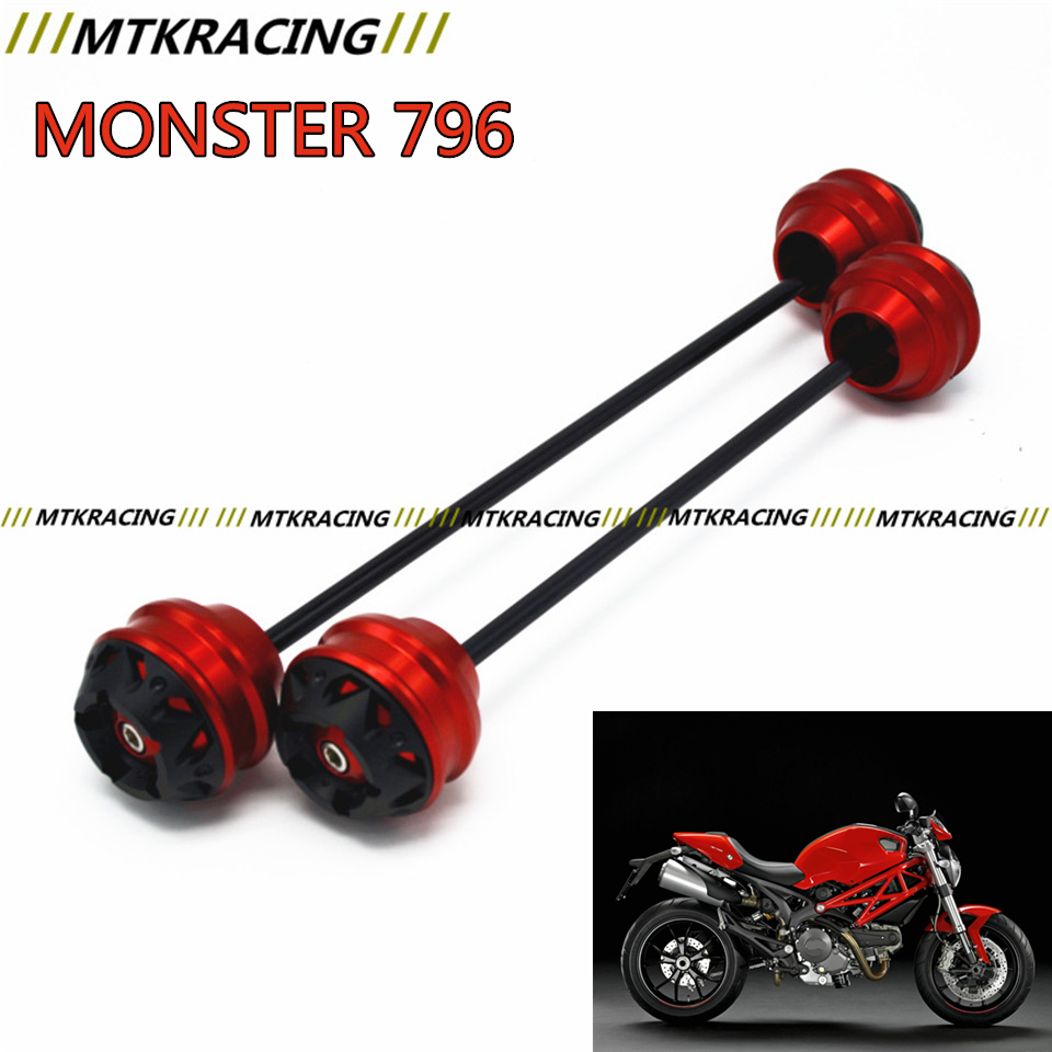 MTKRACING for Ducati MONSTER 796 2012-2016 CNC Modified Motorcycle Rear wheel drop ball / shock absorber free delivery for ducati monster s4r 2003 2008 cnc modified motorcycle drop ball shock absorber