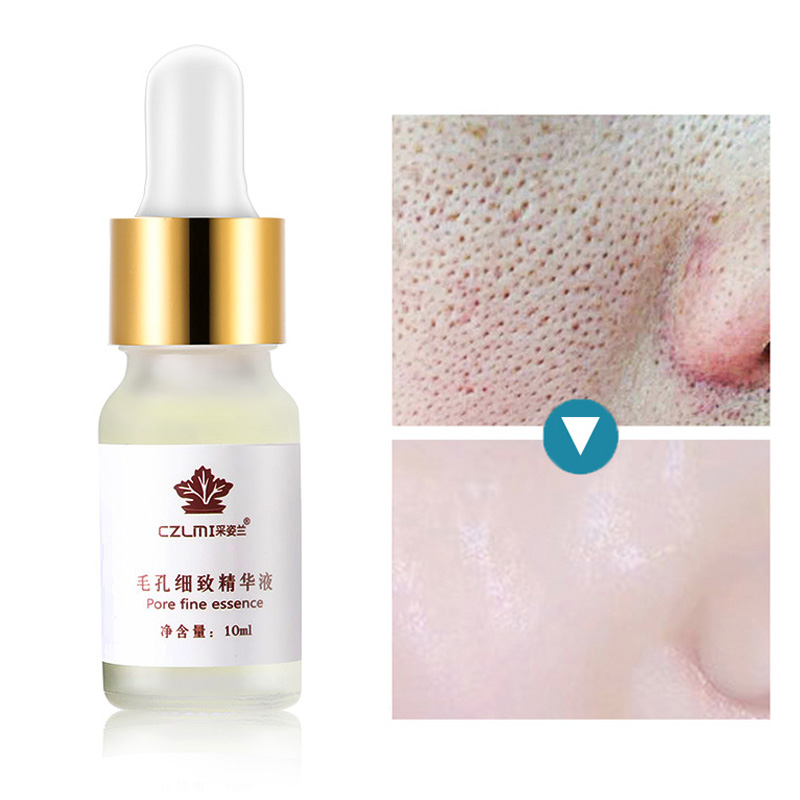 10ML Hyaluronic Acid Pores Shrinking Face Serum Moisturizing Whitening Essence Face Cream Anti-Aging Dry Skin Care