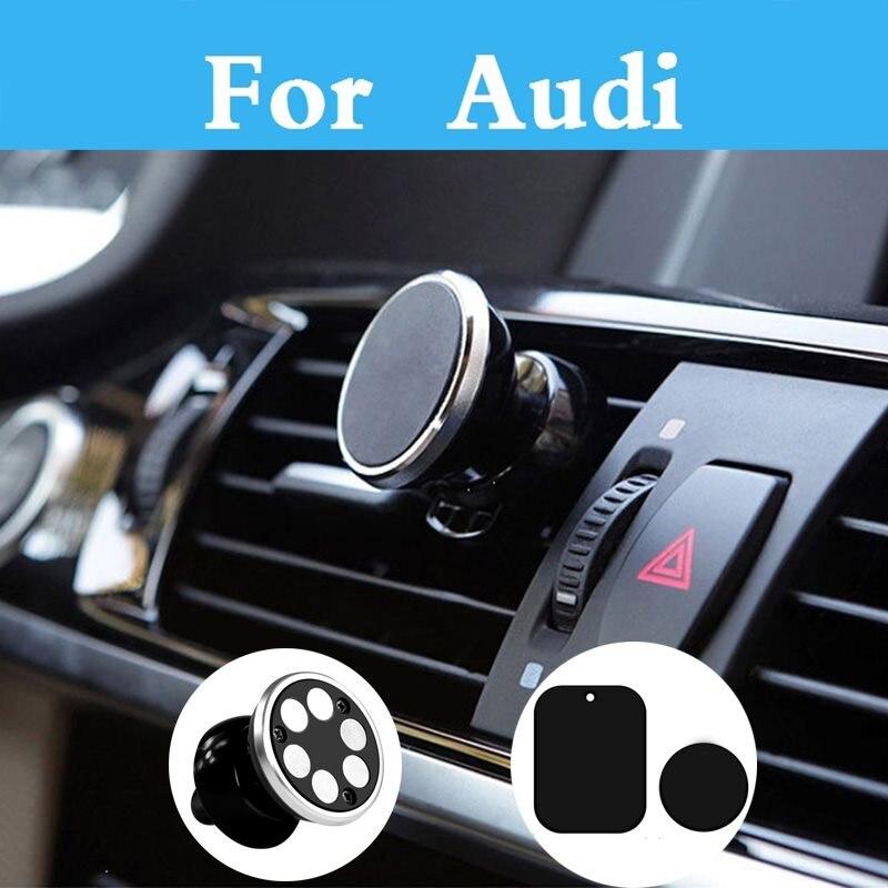Магнитный автомобильный держатель телефона вентиляционное отверстие GPS мобильного телефона Автомобильный держатель Подставка для <font><b>Audi</b></font> Q3 Q5 Q7&#8230;