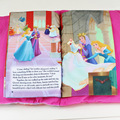 The Sleeping Beauty Toy Baby Plush Cloth Book Kids Early Development Cloth Books Doll Plush Pillow