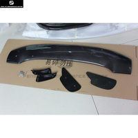 Fit J style Carbon fiber rear bumper spoiler wings for Honda Fit 13 18