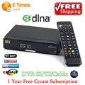 Melhor preço V8 Dourado DVB-S2/sab Receptor de Satélite DVB-T2 DVB-C livre decodificador + 1 ano Europa cccam apoio USB WI-FI set top caixa
