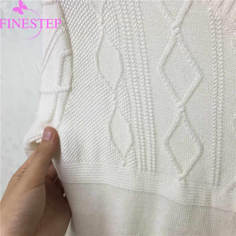 Di Cotone Bianco delle donne Cardigan Maglione Autunno Inverno Maglioni casual Donne Cardigan Maglie e Maglioni Delle Donne