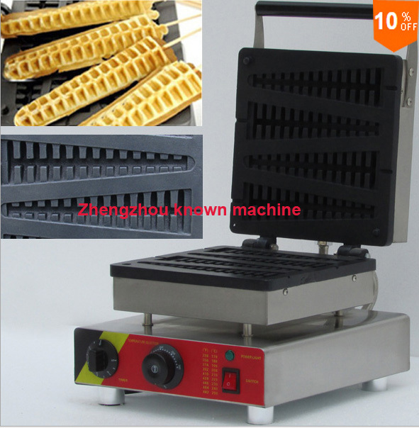 10% discount for hot sale cast iron lolly waffle maker / mickey mouse waffle maker hot sale 32pcs gas bean waffle maker