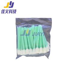 50 pcs Cleaning Cotton Sticks for Roland Epson Mimaki Mutoh Large Format Solvent Printer Printhead Sponge Sticks Swabs Buds Foam new ic driver spt510 35pl printhead for chinese large format solvent printer
