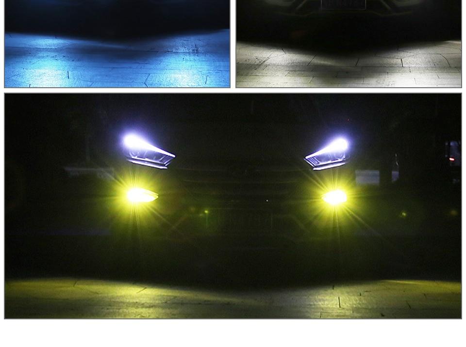 H7 Led Bulb H11 H8 H9 H1 Car Led Light 1200LM 9005 Hb3 9006 Hb4 Led Fog Light Bombilla Led 12V H3 H10 Luces Coche PSX24W 6000k  (10)
