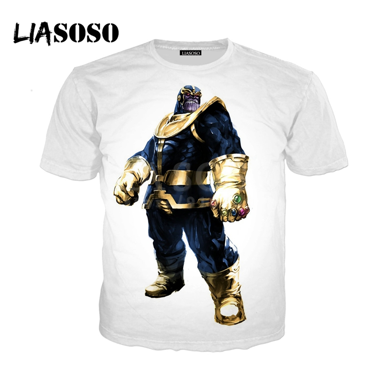 LIASOSO NEW Game Fortnite Avengers Infinity War Thanos 3D Print t shirt/Hoodie/Sweatshirt Unisex Funny Good Quality Tops G1183