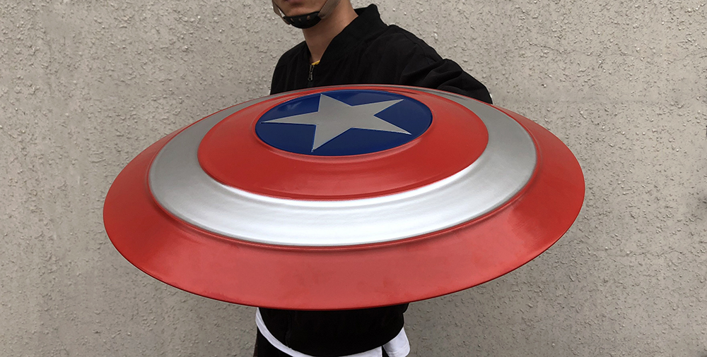 Captain America Shield Cosplay Avengers Endgame Captain America Costume Accessory Steve Rogers Shield Halloween Party Props3