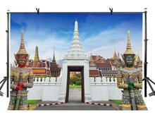 150x220cm Temple Backdrop Bangkok Architecture Photography Background and Studio Props