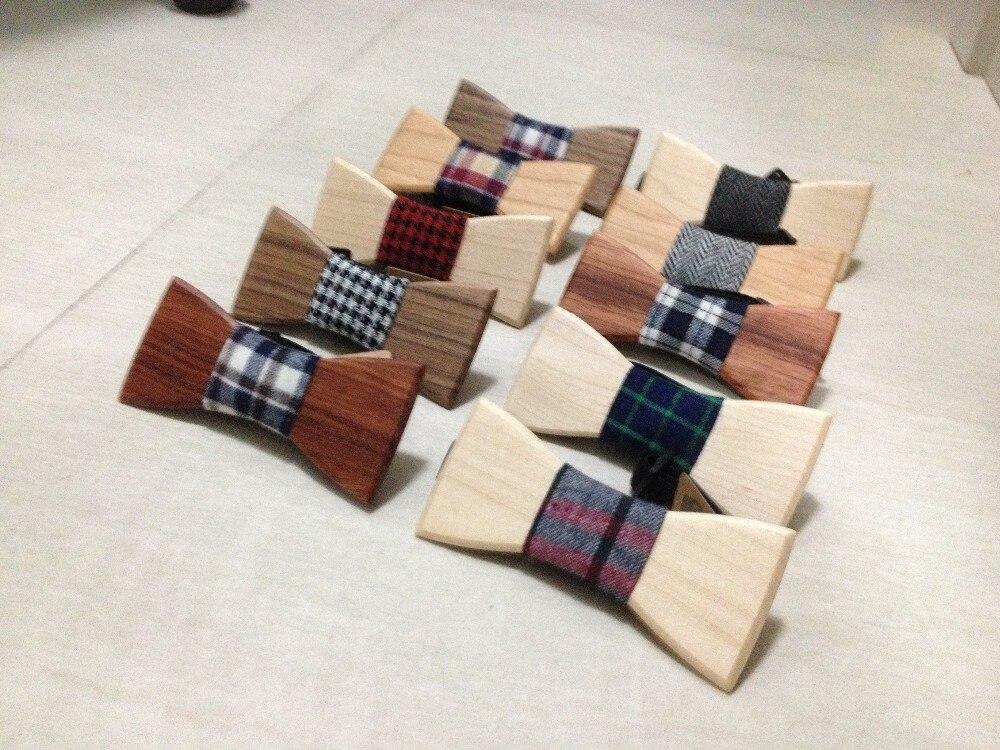10 шт Горячая Европейская мода, человечек хороший деревянный галстук-бабочка для мужчин галстук-бабочка лучшее качество