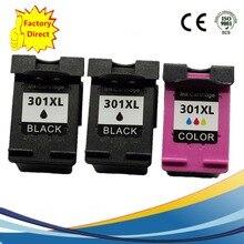 Цветные чернильные картриджи восстановленные для струйного принтера HP301 XL HP301 HP301XL ENVY 4500 4504 5530