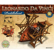 Da Vinci Boat 3D Model