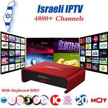 Israël Hébreu Monde 4800 + Canaux IPTV Boîte T95U PRO Android 6.0 TV Box S912 Octa-core cortex-A53 Mali-T820MP3 2G16G Set Top boîte