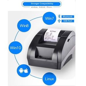 Image 2 - Zjiang 58 Mm Bluetooth Thermische Printer Draadloze Pos Printer Voor Android Ios Mobiele Telefoon Windows Ondersteuning Kassalade