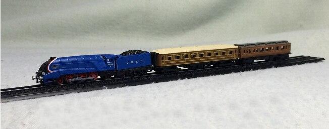 atlas 1: 220 MALLARD WORLD RECORD TRAIN Z scale model trains pocket Treasures цена и фото