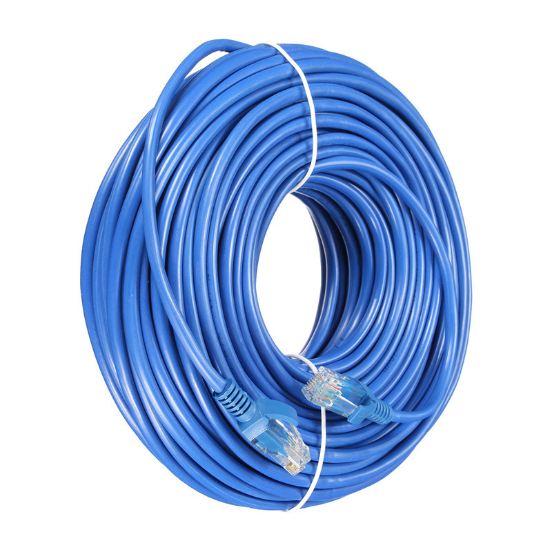 24M Cat 5 RJ45 Network LAN Cable Male to Male UTP Internet Ethernet Cable Patch Connector Cord Tools For PC Computer Laptop