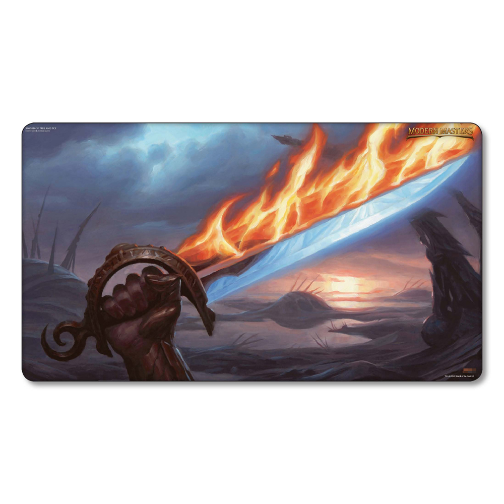 Sword of Fire and Ice Playmat, Magical Board Games Proxy Playmat,table Cloth Pad Playmat, MGT Game Playmats ...