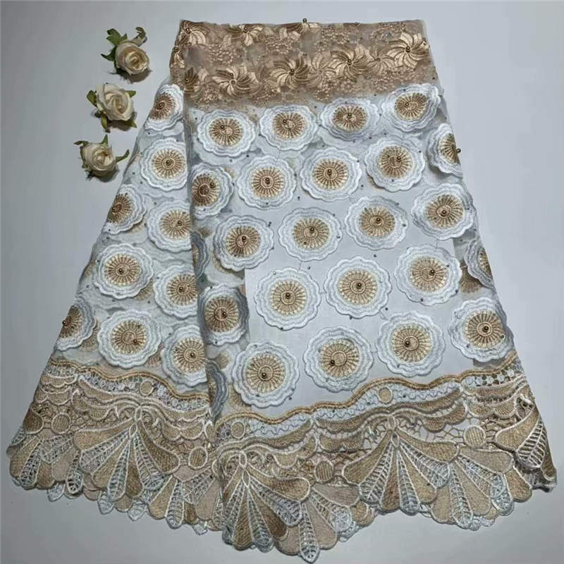 ZQ!lace fabric 2019 high quality lace nigerian lace fabric for women dress african tulle lace with stones 5yards pcs ! L40385ZQ!lace fabric 2019 high quality lace nigerian lace fabric for women dress african tulle lace with stones 5yards pcs ! L40385