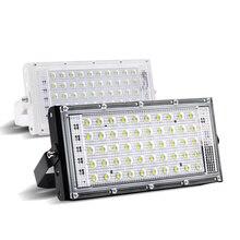 Светодиодный rgb-прожекторы 220 V Открытый IP66 Водонепроницаемый 50 W Ультра яркий светодиодный потока Разноцветный свет светодиодный Многофункциональный Портативный лампа