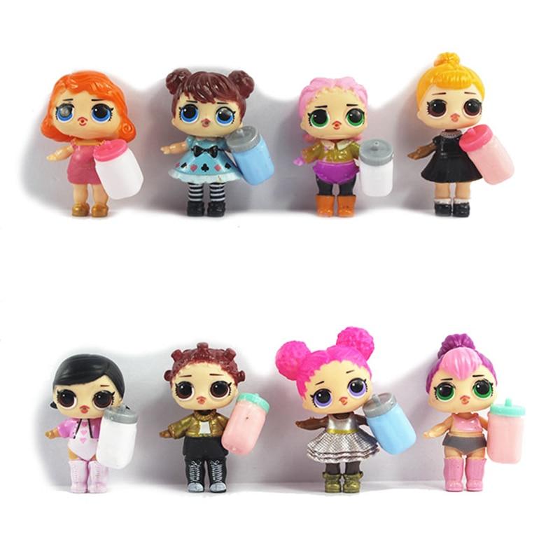 1db LoL Dolls Kicsomagolás Kiváló minőségű babák Baba Lovely - Játék figurák
