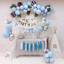 BTRUDI diy balloon chain macaron birthday Party Wedding Valentines Day Decoration Supplies home scene arrangement