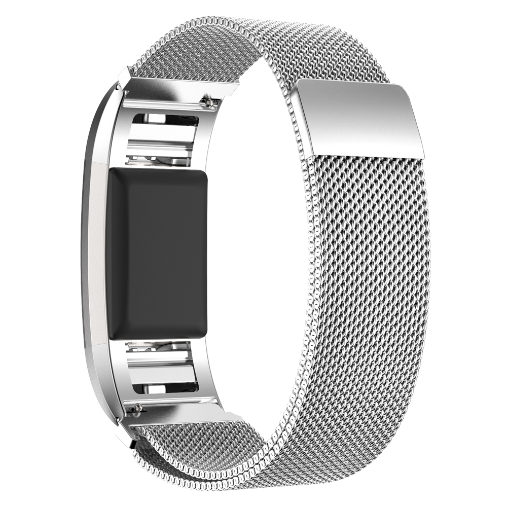 Milanese wristband For Fitbit Charge 2 frontier classic replacement band For Fitbit Charge 2 smart watch strap accessories in Watchbands from Watches