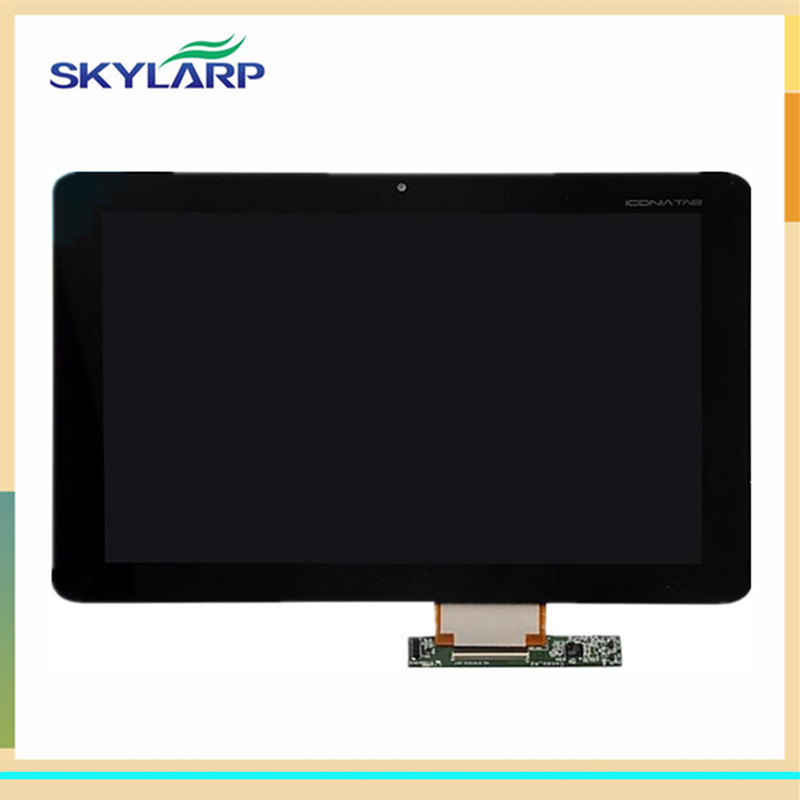 original Black LCD panel for Acer Iconia Tab A200 display screen With Touch Screen Replacement (with logo)  цены