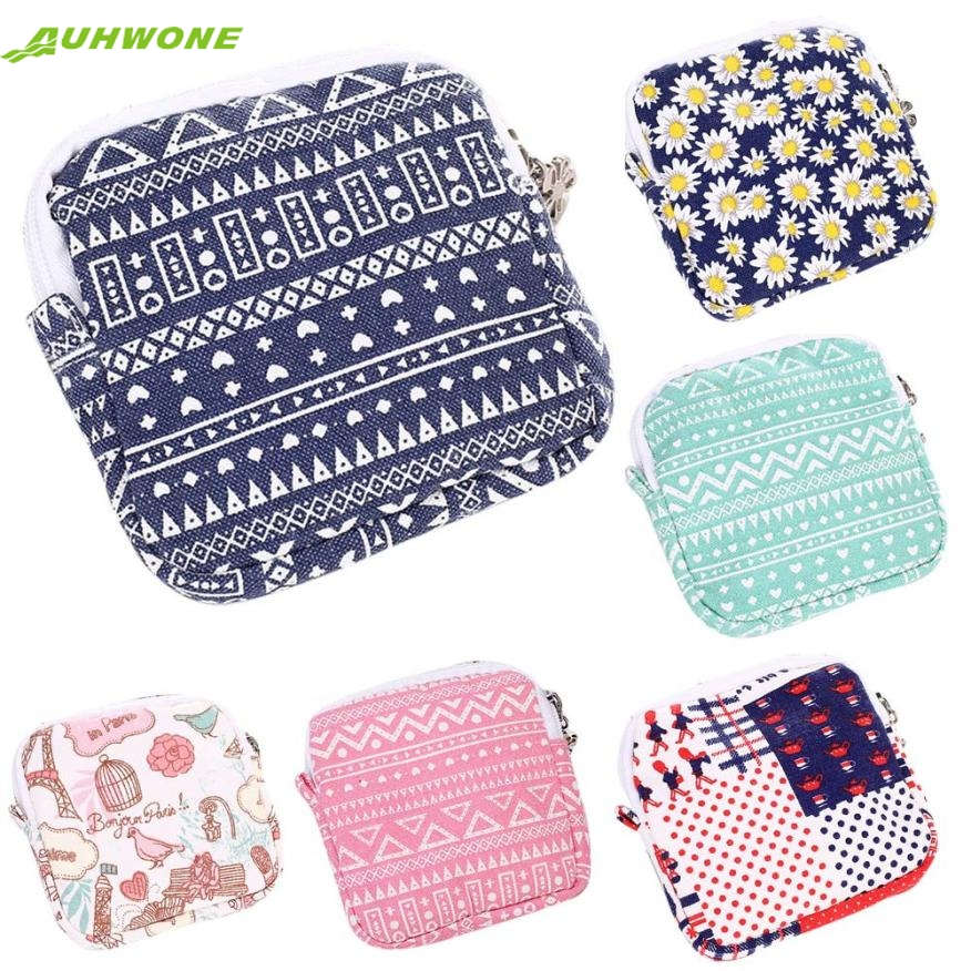 cosmetic bag Best Gift Women Girl Cute Sanitary Pad Organizer Holder Napkin Towel Convenience Bags dEC8 maison fabre best deal new fashion women cute sanitary pad organizer holder napkin towel convenience mini coin bags gift 1pc