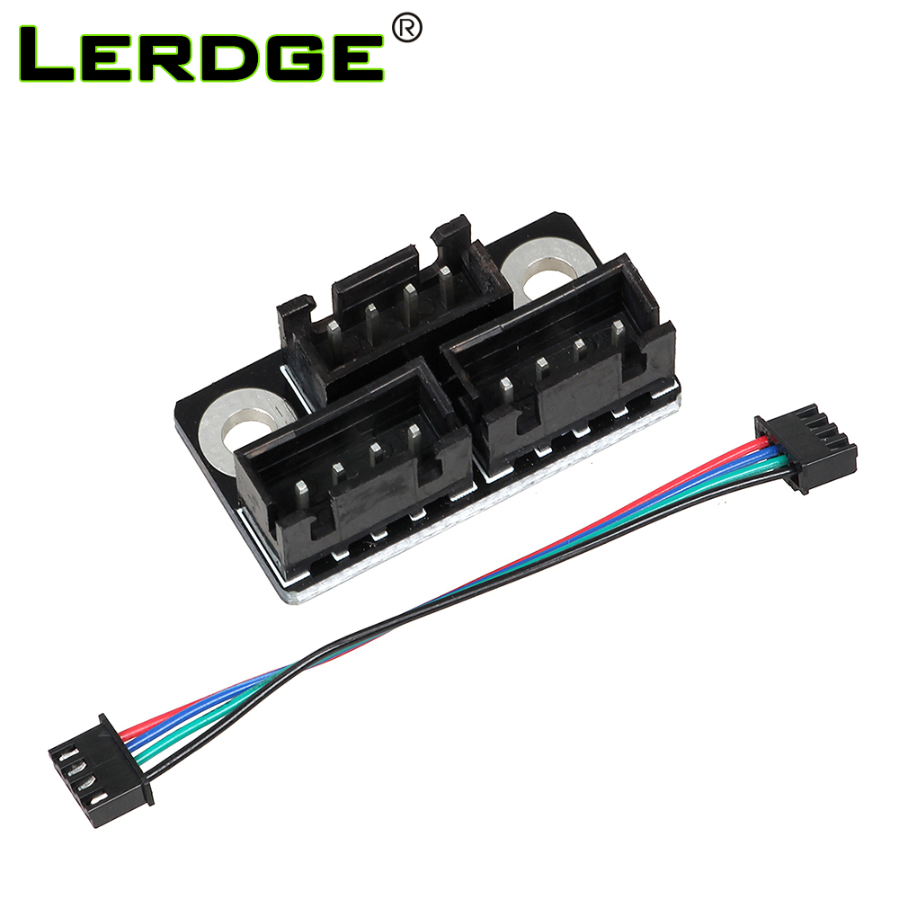 LERDGE 3D Printer Parts Motor Parallel Module for Double Z Axis Dual Z Motors for Lerdge 3D Printer Board pittman motor for liyu pm 3212 printer motor 9234c140 r5 printer parts page 1