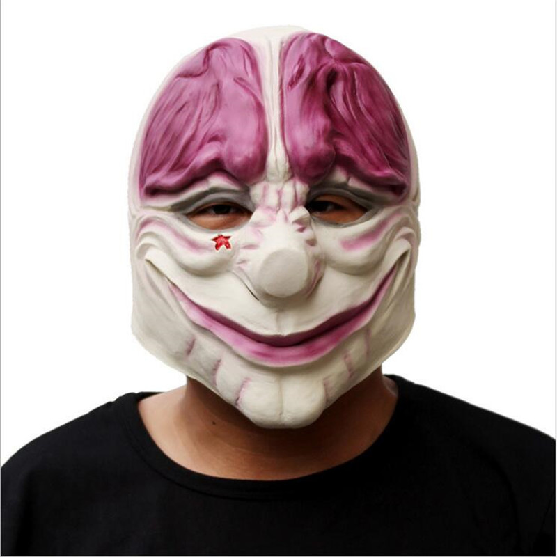 PAYDAY Joker Cosplay Masks Adult Boys and Girls Halloween Animal Blame Free Shipping
