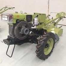 15 л.с. прогулочный трактор сельскохозяйственный трактор с аккумуляторной коробкой китайский известный бренд с роторным культиватором