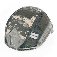 Тактический военный шлем Чехлы камуфляжный чехол Пейнтбольный шлем для съемки аксессуар для fast MH/PJ шлем